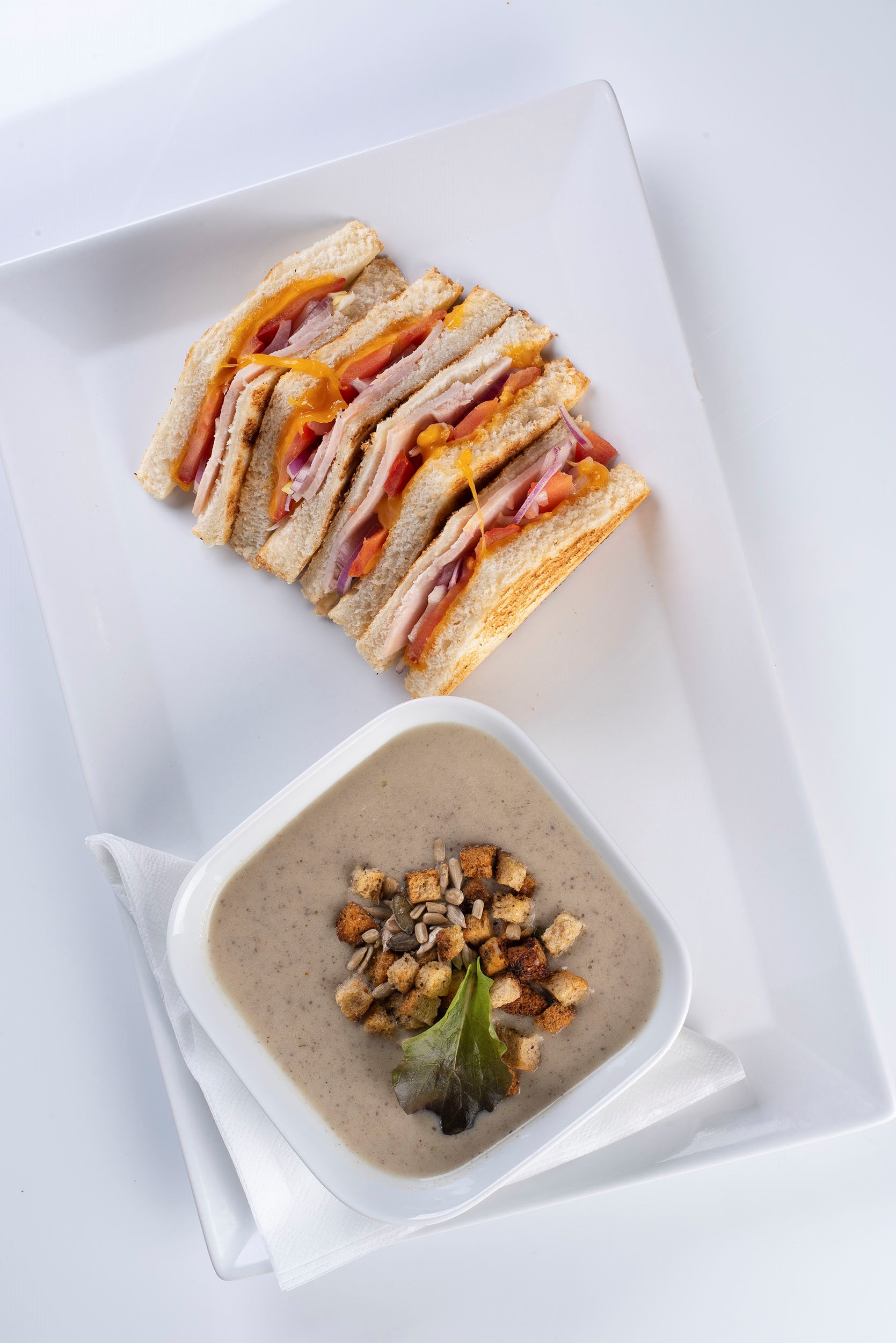 12 sandwich soup